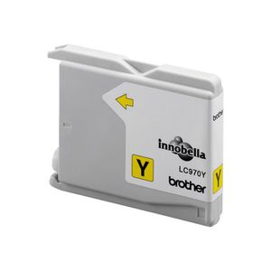 CARTOUCHE IMPRIMANTE Brother LC970Y Jaune originale Emballage coque ave