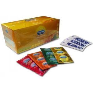 PRÉSERVATIF Durex - Boîte de 144 préservatifs aux fruits