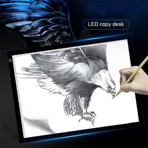 TABLE A DESSIN  A3 LED Table Lumineuse Tactile pour Dessiner de D