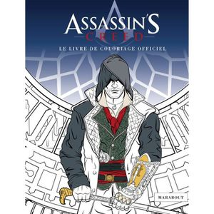 CARNET DE CROQUIS Livre de coloriage Assassin's Creed
