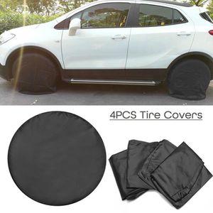 SUV housse de pneu imperm/éable et protection solaire 35,6 /à 43,2 cm Housse de roue de secours en cuir pour voiture caravane