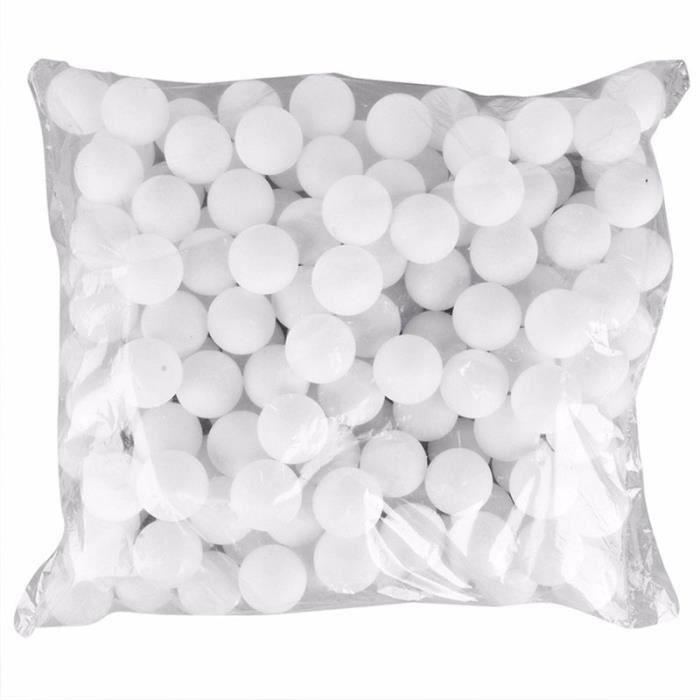 Balles de ping-pong Balles de bière-pong 150pcs Balle de tennis 38mm Table de pratique lavable
