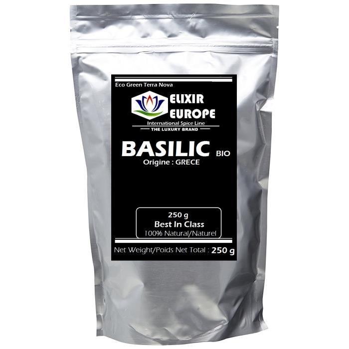 BASILIC bio 250 g
