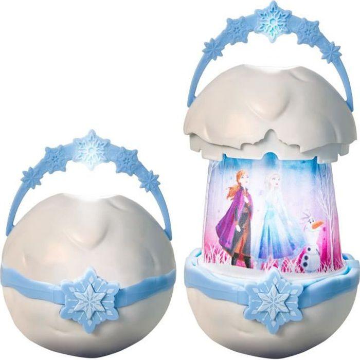 Disney La Reine des Neiges - GoGlow Pop - Veilleuse et lampe torche 2-en-1