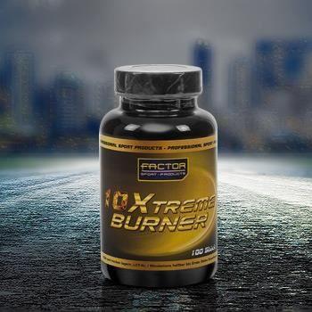 10 X-treme burner 100 caps a 770 mg