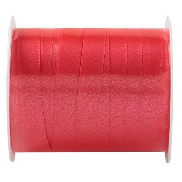 2 Bobines : Ruban bolduc rouge 7mm x 10m - REF/6177