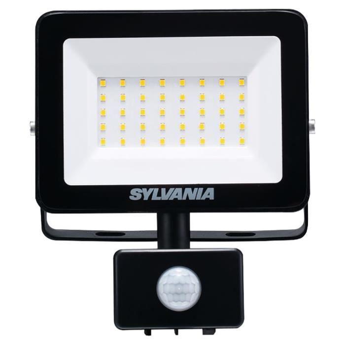 SYLVANIA - Projecteur exterieur ip54 2800lm avec détecteur 3000k