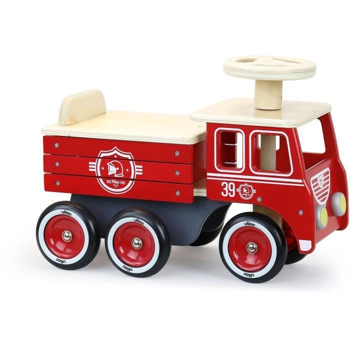 Vilac - Porteur camion de pompier - VILAC