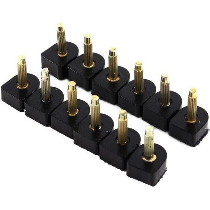 OHL plaques talons a conseils hauts de à 60PC de tailles Plaques de talon de talon réparation 5 différentes chaussures TlF1KJc