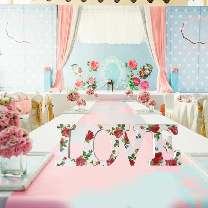 Amour Signe Colore Chambre De Mariage En Bois Accueil Party Lettre Decor Decoration Aihi4615 Achat Vente Plaque De Porte Soldes Sur Cdiscount Des Le 20 Janvier Cdiscount