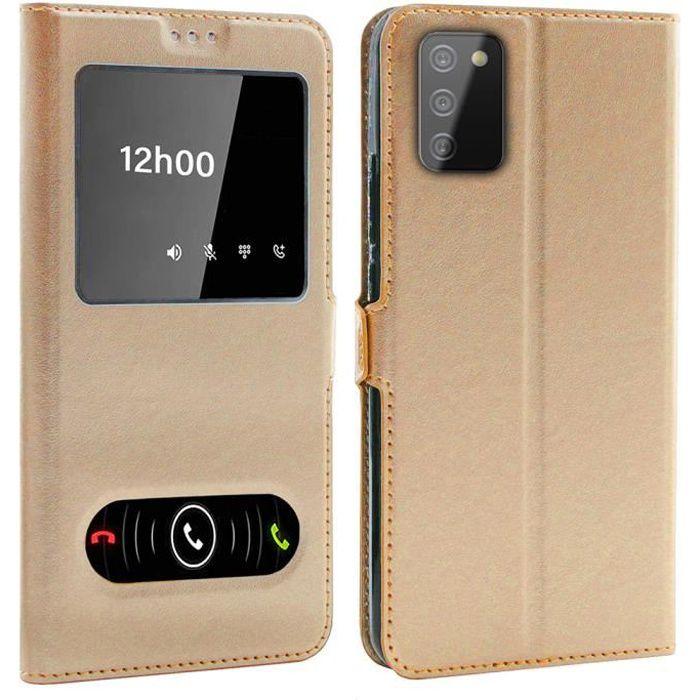 Coque pour Samsung Galaxy A02S (6,5 Pouces), Doubl