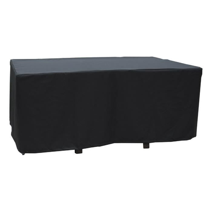 housse de protection pour table 170x105 cm achat vente. Black Bedroom Furniture Sets. Home Design Ideas