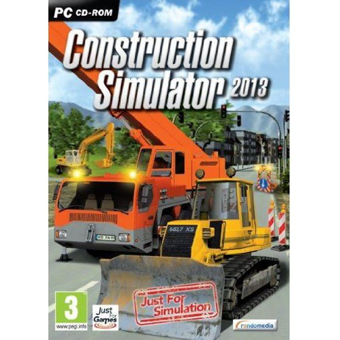 construction simulator 2013 achat vente jeu pc construction simulator 2013 cdiscount. Black Bedroom Furniture Sets. Home Design Ideas