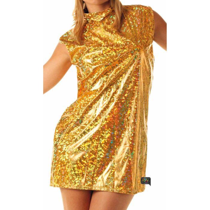Robe 70 S Or Achat Vente Deguisement Panoplie Cdiscount