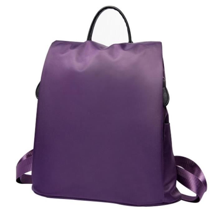 sac dos rucksack sac camping sport travail violet achat vente sac dos cdiscount. Black Bedroom Furniture Sets. Home Design Ideas