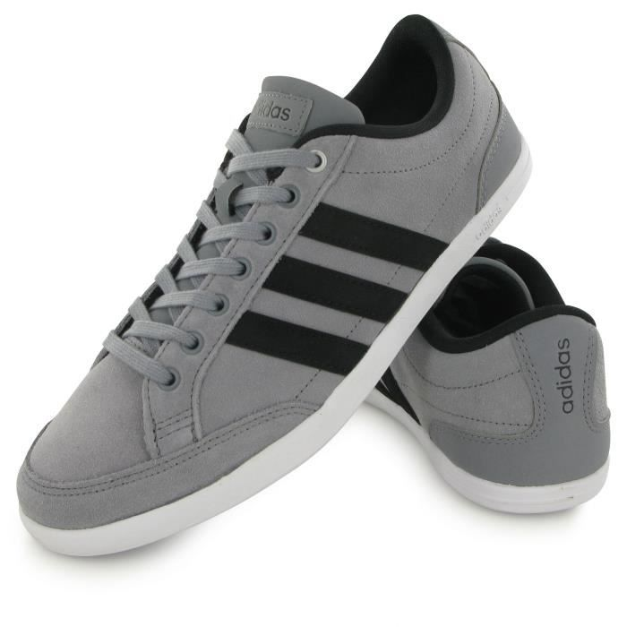 wholesale sales coupon code large discount Adidas Neo Caflaire gris, baskets mode homme Gris - Achat / Vente ...