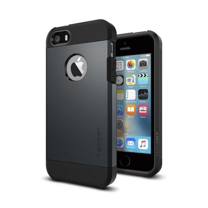 spigen tough armor pour iphone 5 5s se metal s