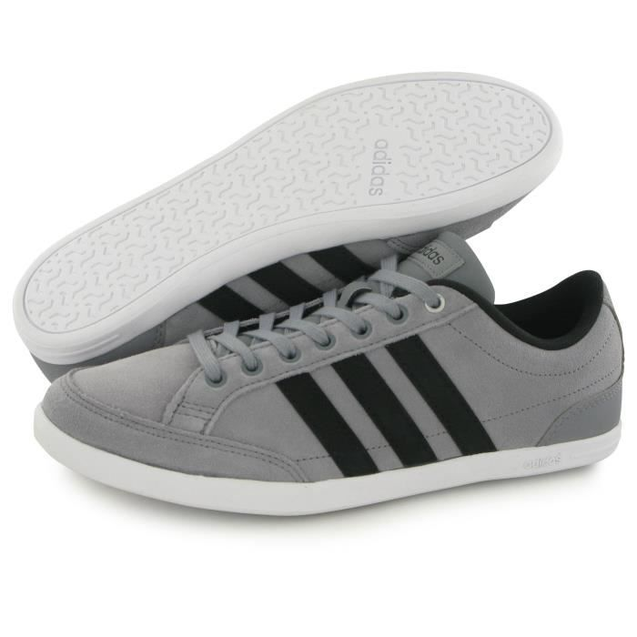 Adidas Neo Caflaire gris, baskets mode homme ...