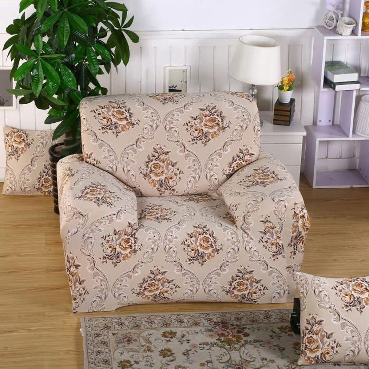 Comment Faire Une Housse De Fauteuil housse de fauteuil/canapé 1 place décoration du maison café