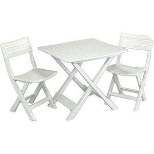 SALON DE JARDIN  Ensemble table et chaises Camping