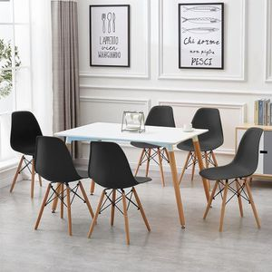 Wiss Table Salle A Manger Rectangulaire Scandinave Design Bois