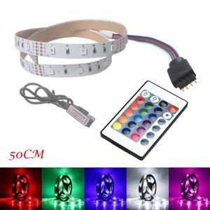 BANDE - RUBAN LED 50CM Retour LED USB lumière de bande TV lampe 2835