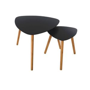table gigogne scandinave achat vente table gigogne scandinave pas cher cdiscount. Black Bedroom Furniture Sets. Home Design Ideas