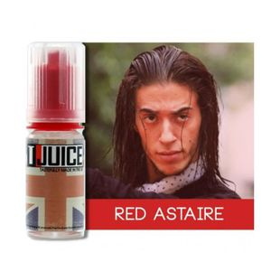 LIQUIDE E-liquide Red Astaire T-Juice 10 ml - 12mg