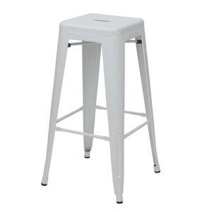 TABOURET DE BAR Tabouret de bar HWC-A73, chaise de comptoir, metal
