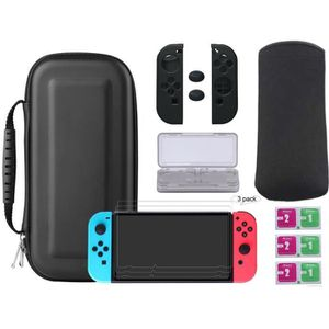 HOUSSE DE TRANSPORT 7 in 1 Coque de Transport Nintendo Switch avec Acc