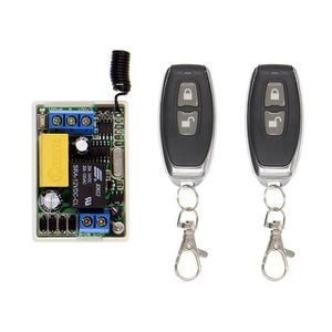 TÉLÉCOMMANDE DOMOTIQUE  Mini Sans Fil RF Télécommande Interrupteur 10A Rel