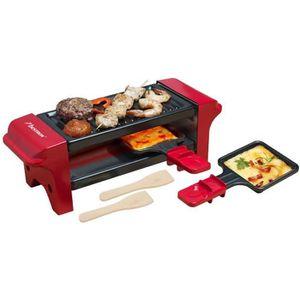 APPAREIL À RACLETTE BESTRON AGR102 Raclette gril – 350W – 2 à 4 person