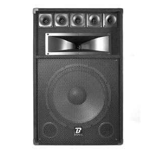 ENCEINTE ET RETOUR Enceinte passive sono DJ PA - 3 voies - 500W max -