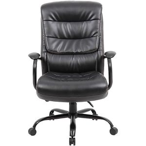 CHAISE DE BUREAU Chaise pivotante de bureau habillage cuir Citadel