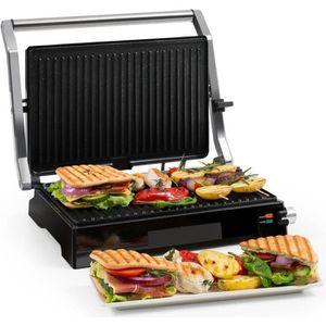 GRILL ÉLECTRIQUE Klarstein Buffalo Grill contact pour panini & toas