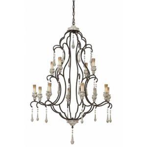 LUSTRE ET SUSPENSION Grand Plafonnier Hollandais 2 Etages ZANETA Lustre