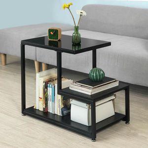 TABLE D'APPOINT SoBuy® FBT65-Sch Bout de Canapé Table d'Appoint Ta
