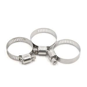 Taille : 18-20mm Fixation en acier inoxydable pour autos Collier de serrage