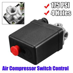Compresseur d/'air Interrupteur Pressostat Vanne contrôle 175 PSI 240V 12 Bar