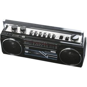 RADIO CD CASSETTE RADIO K7 BT NOIR USB SD RR 501 BT TREVI