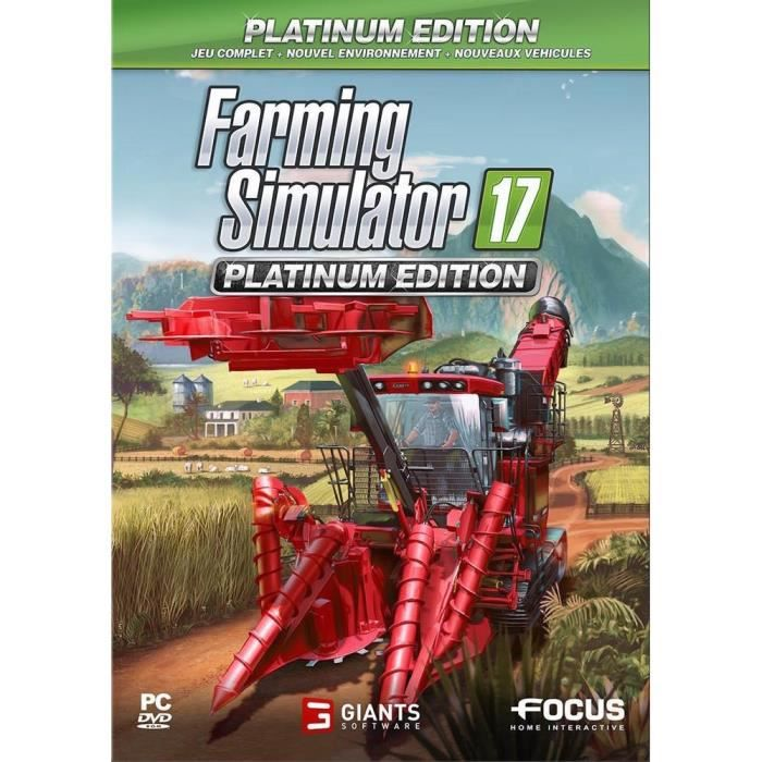 Farming Simulator 17 Edition Platinium Jeu PC