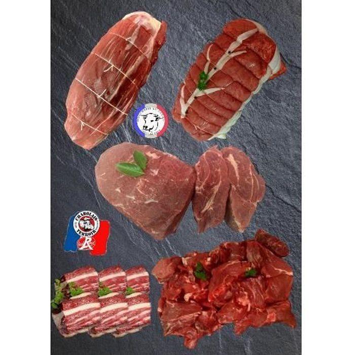 Colis de viande de Bœuf Charolais Spécial Hiver
