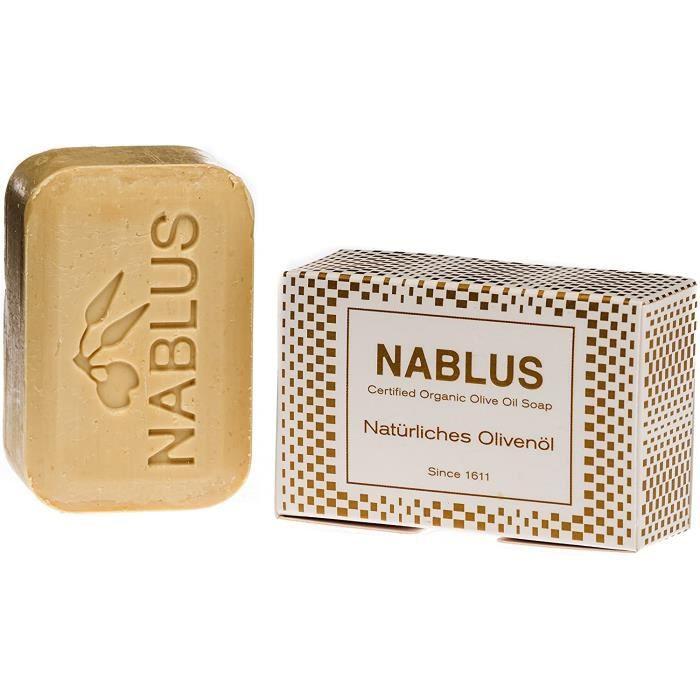 Savons et gels douche Nablus Soap - Le Savon Nablus À L'Huile D'Olive Naturelle idéal pour les peaux sensibles,ne contie 55562