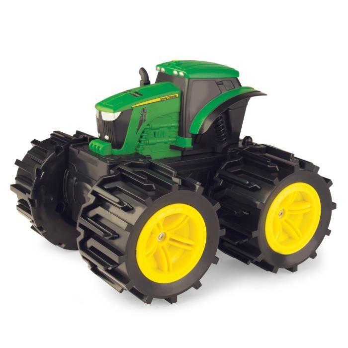 John Deere - 46645 - Mega Monster Treads Super Wheels - Jouet Tracteur - Véhicule Préscolaire X88I5
