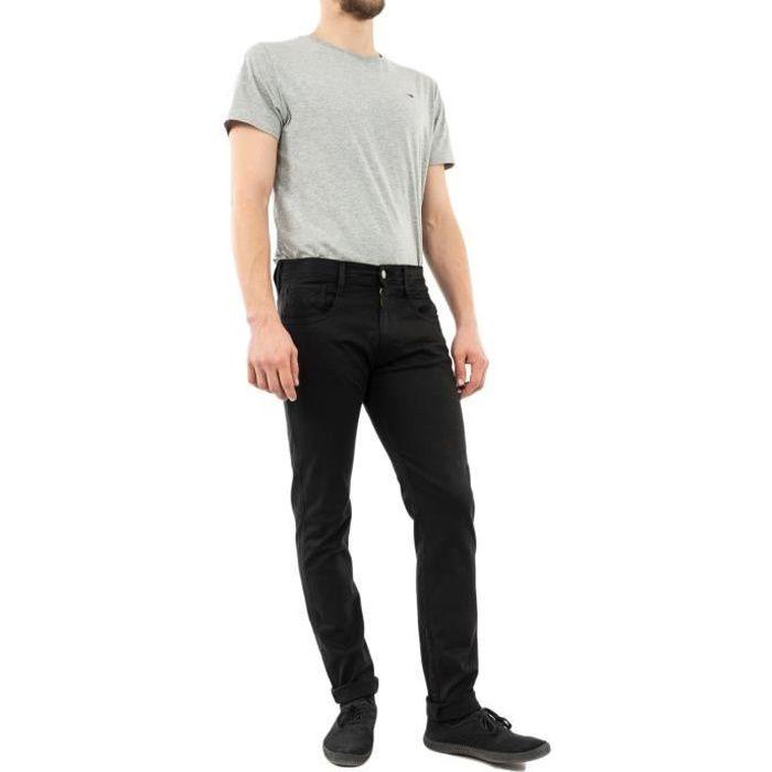 Jeans Replay M914y Ambass Slim Hyperflex Stretch Denim 040 Black.