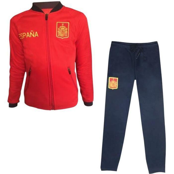 rouge Jogging survêtement Espagne