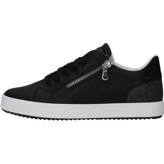 Geox D026HA0PVEW chaussures de tennis Femme NOIR