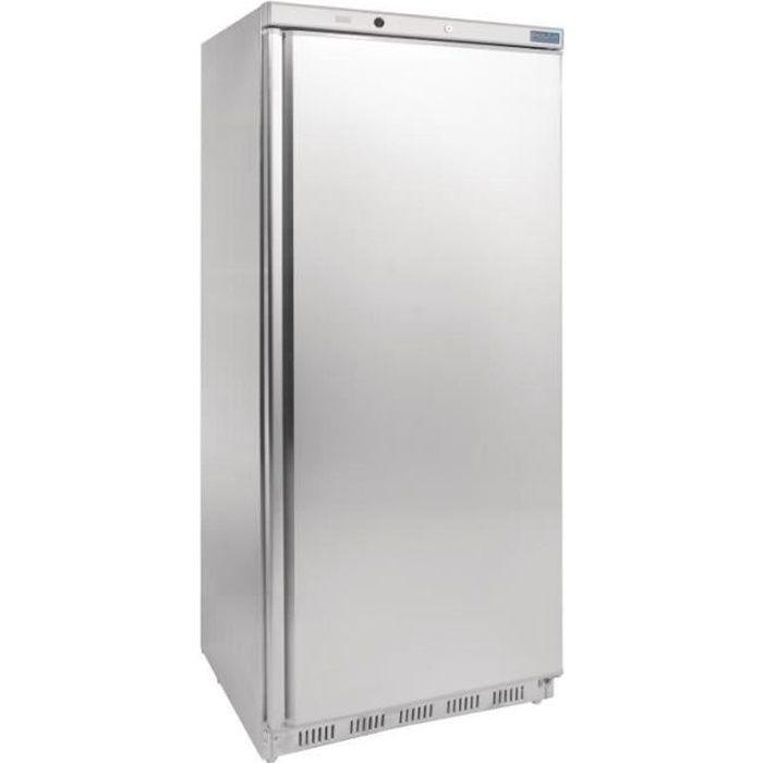 Congélateur 1 porte 600 Litres INOX