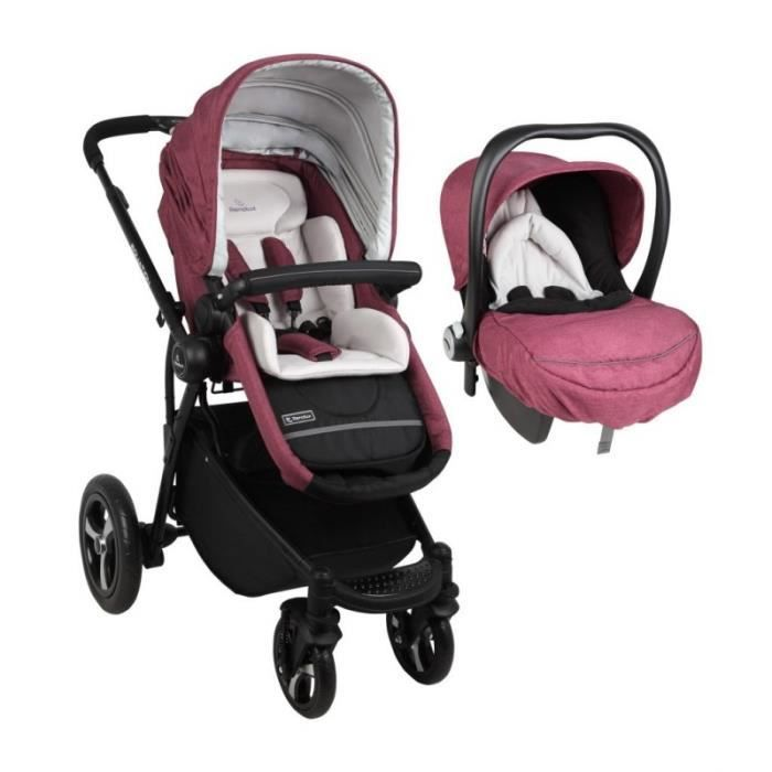 RENOLUX Duo travel system Equation poussette + siege auto GR 0 - Frabina