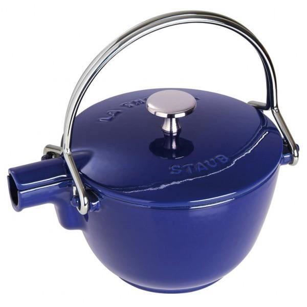 Théière ronde Staub bleu intense - 1650091 - Fo…